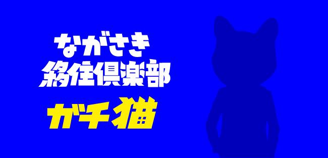 ながさき移住倶楽部 ガチ猫